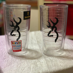 SET OF 2 NWT BROWNING TERVIS TUMBLERS 16 OZ